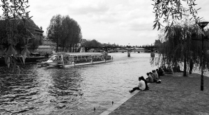Gardens of the Pont Neuf - Paris