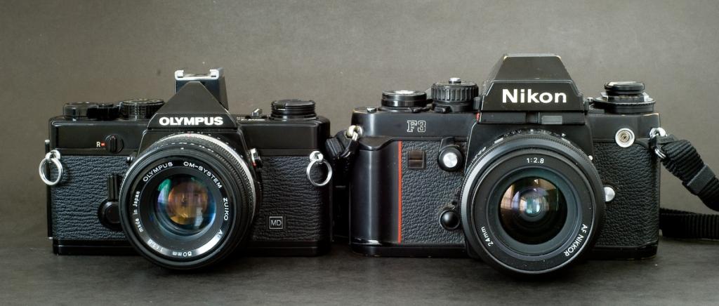 Olympus OM-1n / Nikon F3