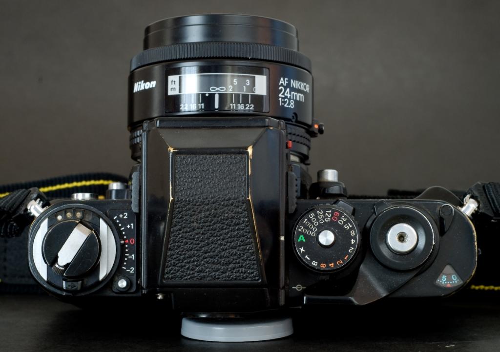 Nikon F3 (above)