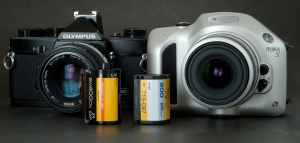 Olympus OM-1/ Nikon Pronea S / Cartridge