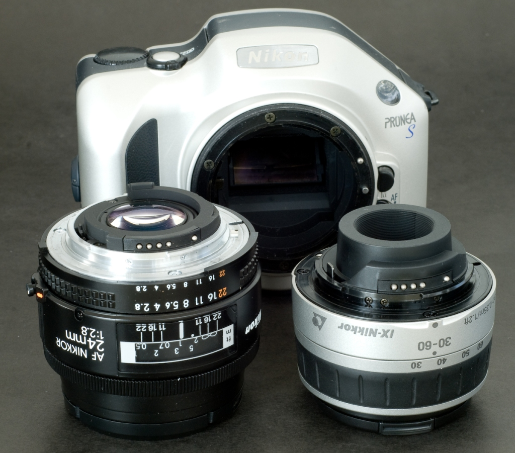 Nikon F mount / Nikon Pronea mount