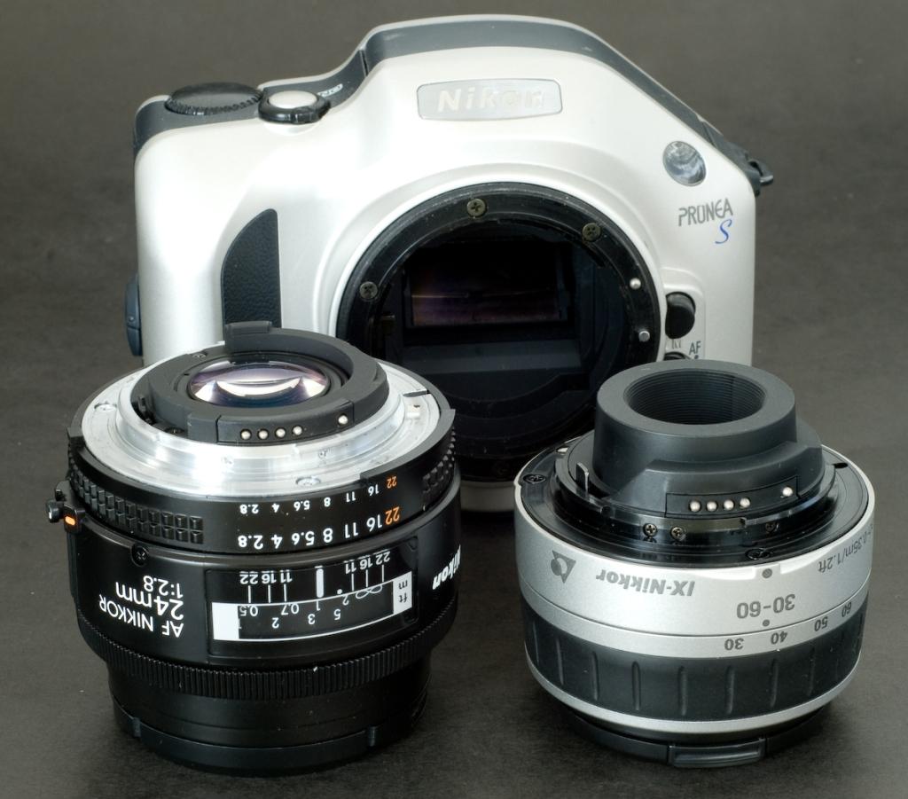 Nikon F mount / Nikon Pronea mount