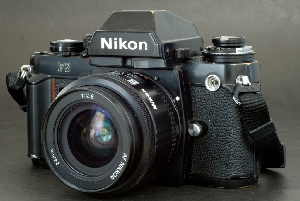 Nikon F3 - cosmetically not perfect - it simply works