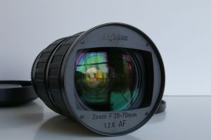 The front of the lens - very nice piece of glass