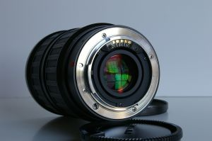 "The Minolta ""A"" mount of the Angenieux 28-70 AF zoom"