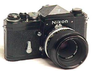 Nikon F - Photo courtesy of cameraquest (www.cameraquest.com)