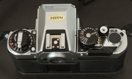 Nikon FA - the commands for the multi-mode exposure automatism (PSAM)