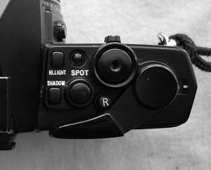 Olympus OM-3 and OM-4: exposure metering controls