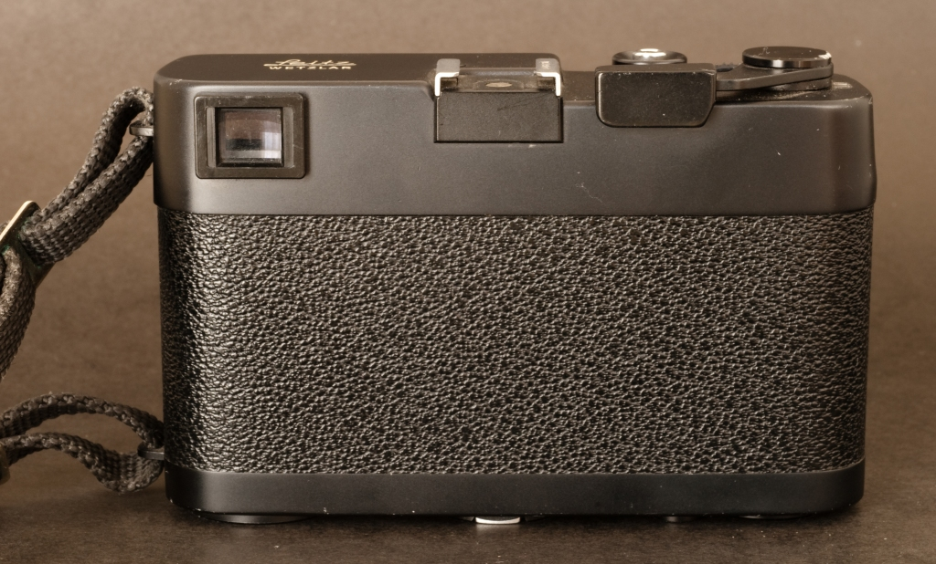 The back of the Leica CL
