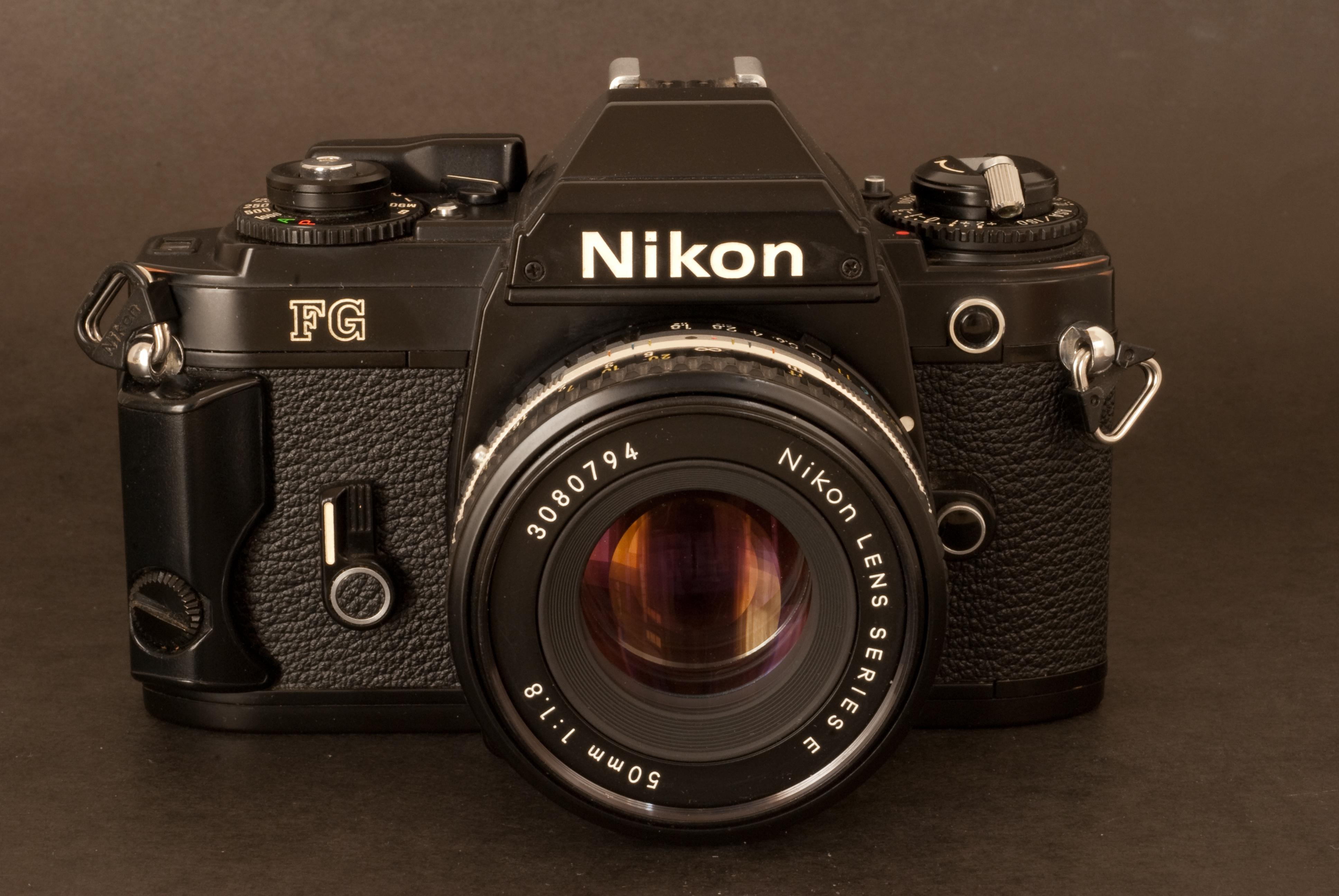nikons s most advanced manual focus u201cultra compact u201d slr the nikon rh cameragx com Nikon FG Body Nikon FG Camera Manual