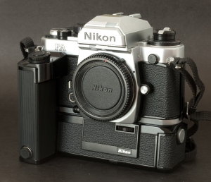 Nikon FA with the MD-15 motor
