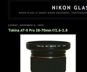 Nikon Glass Blog