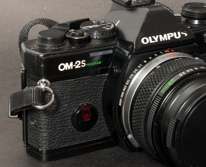Olympus OM-2 S was named OM-2 SP on some markets.
