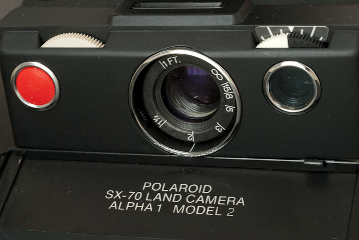 Polaroid SX-70 Alpha 1 Model 2 (close up) - when will we get a ZINK equivalent?