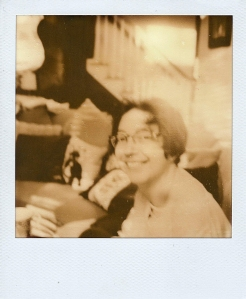 Portrait on PX100 Film (exposure adjusted in Photoshop)