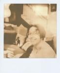 Portrait shot on PX100 film (scanned as shot, no adjustment)