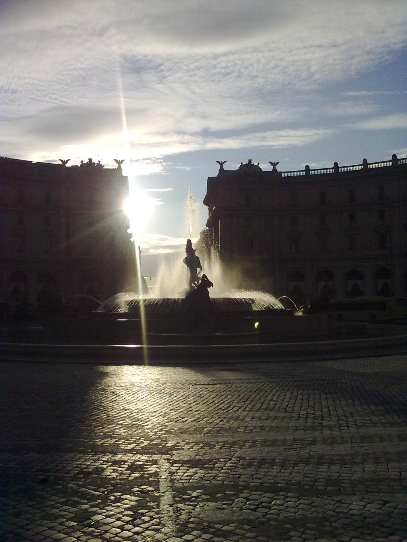 Rome - Piazza de la Repubblica - Dec 2009