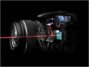 Sony SLT-A55 Pellicle Mirror