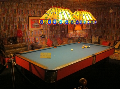 The Pool Table - Graceland (Memphis, TN)
