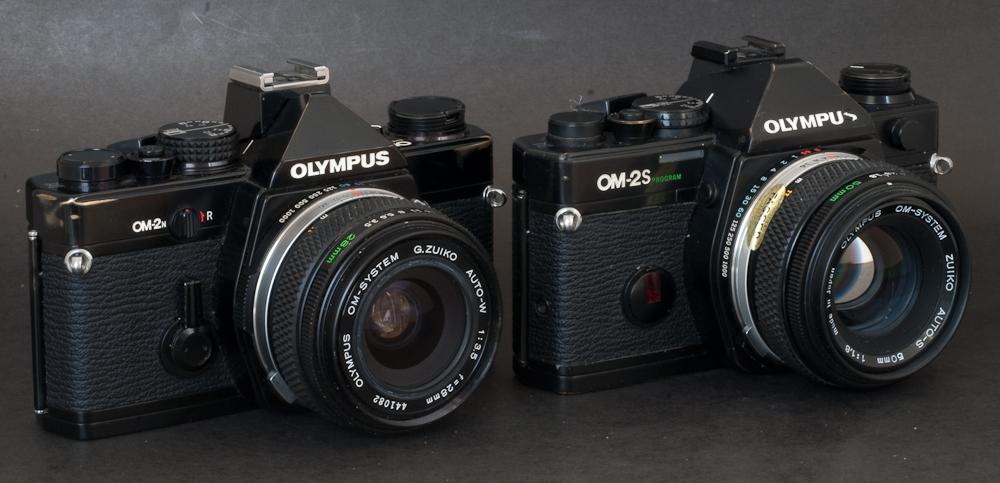Olympus OM-2s and Olympus OM-2n
