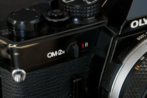 Olympus OM-2n - Close-up (Front)
