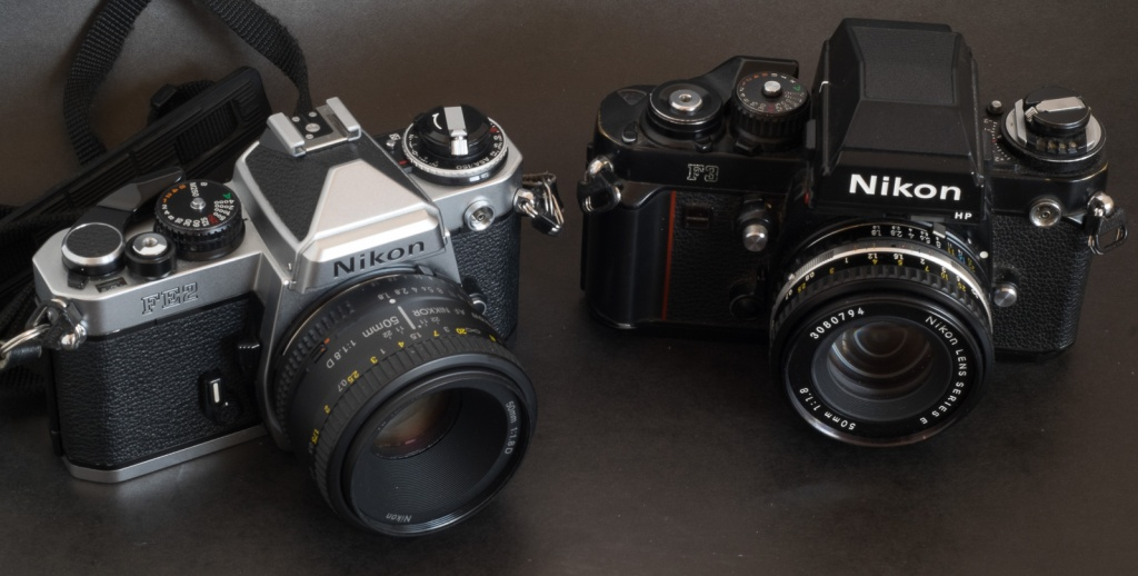 Nikon FE2 and F3 - my pick in the Nikon family