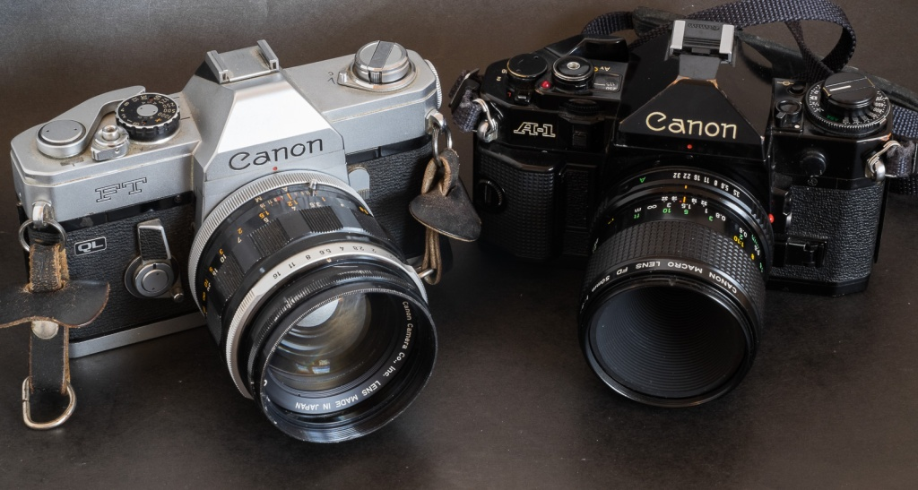 Canon FT/QL and A-1