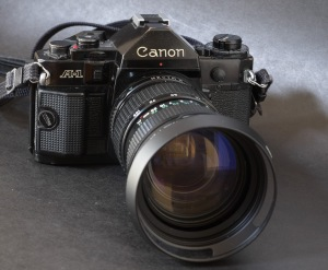 Canon A-1. Still impressive after all these years.