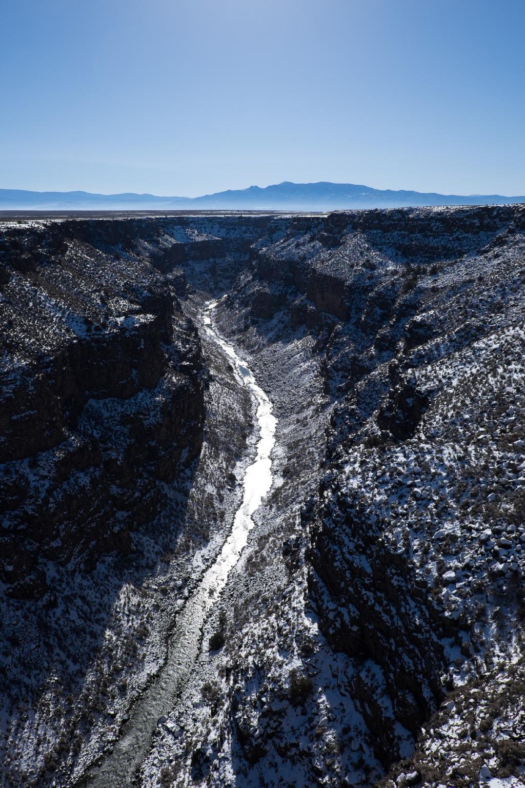 Rio Grande from Taos Bridge - Fujifilm X-T1