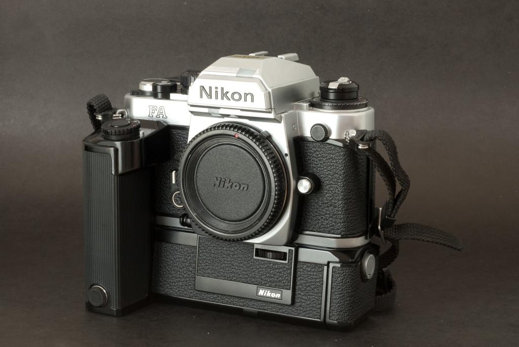 Nikon FA with motor drive - an impressive rig.