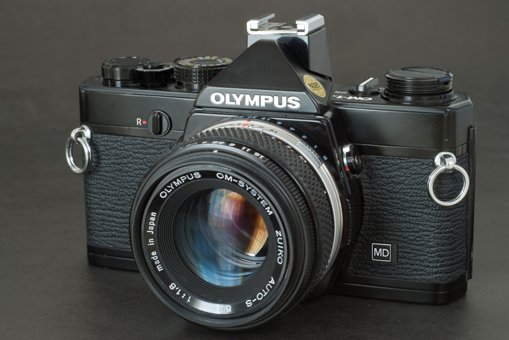 Olympus OM-1n MD - a very clean copy.