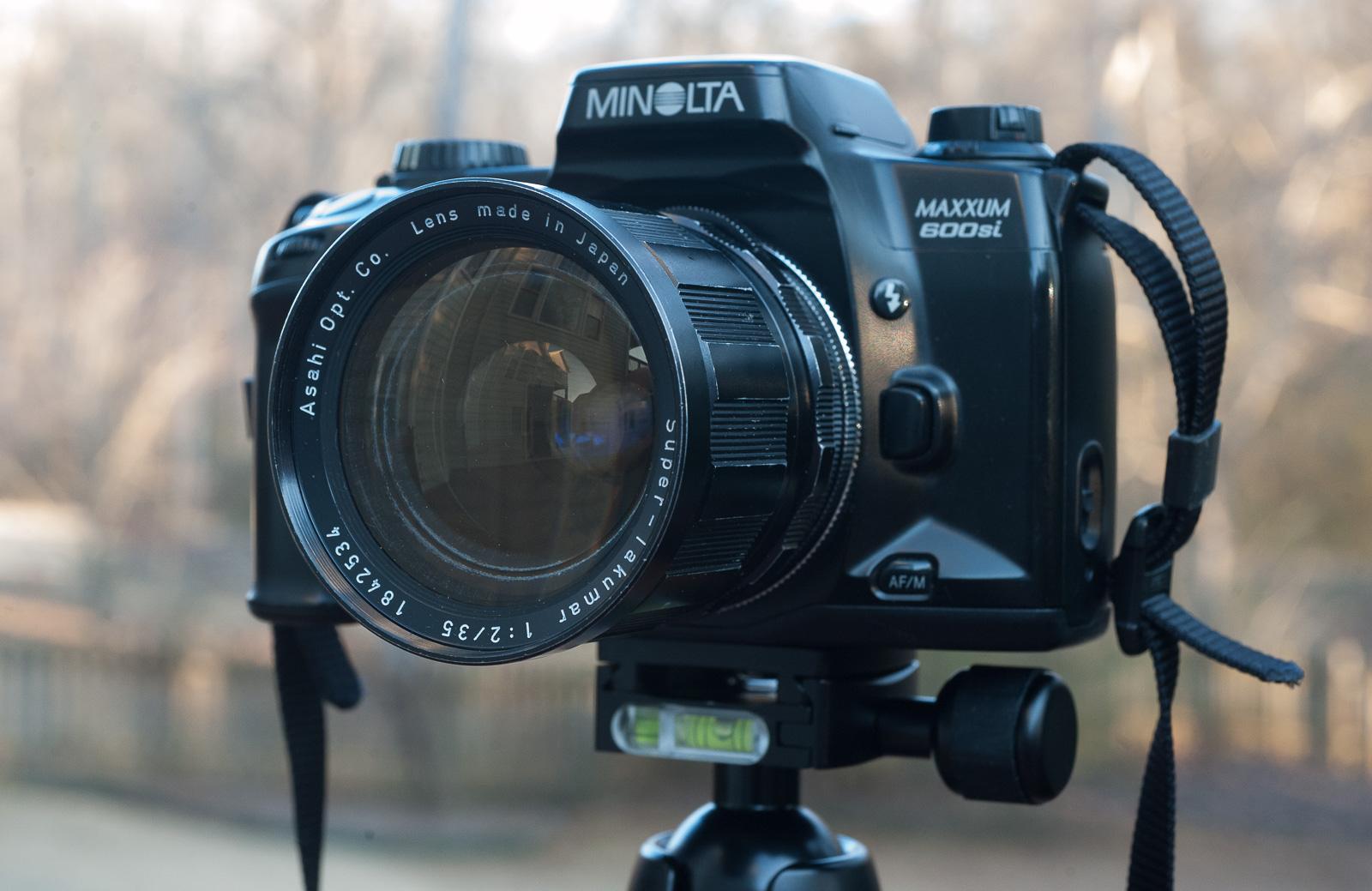 Offen Minolta Dynax 600 Si Classic Analogkameras Analoge Fotografie