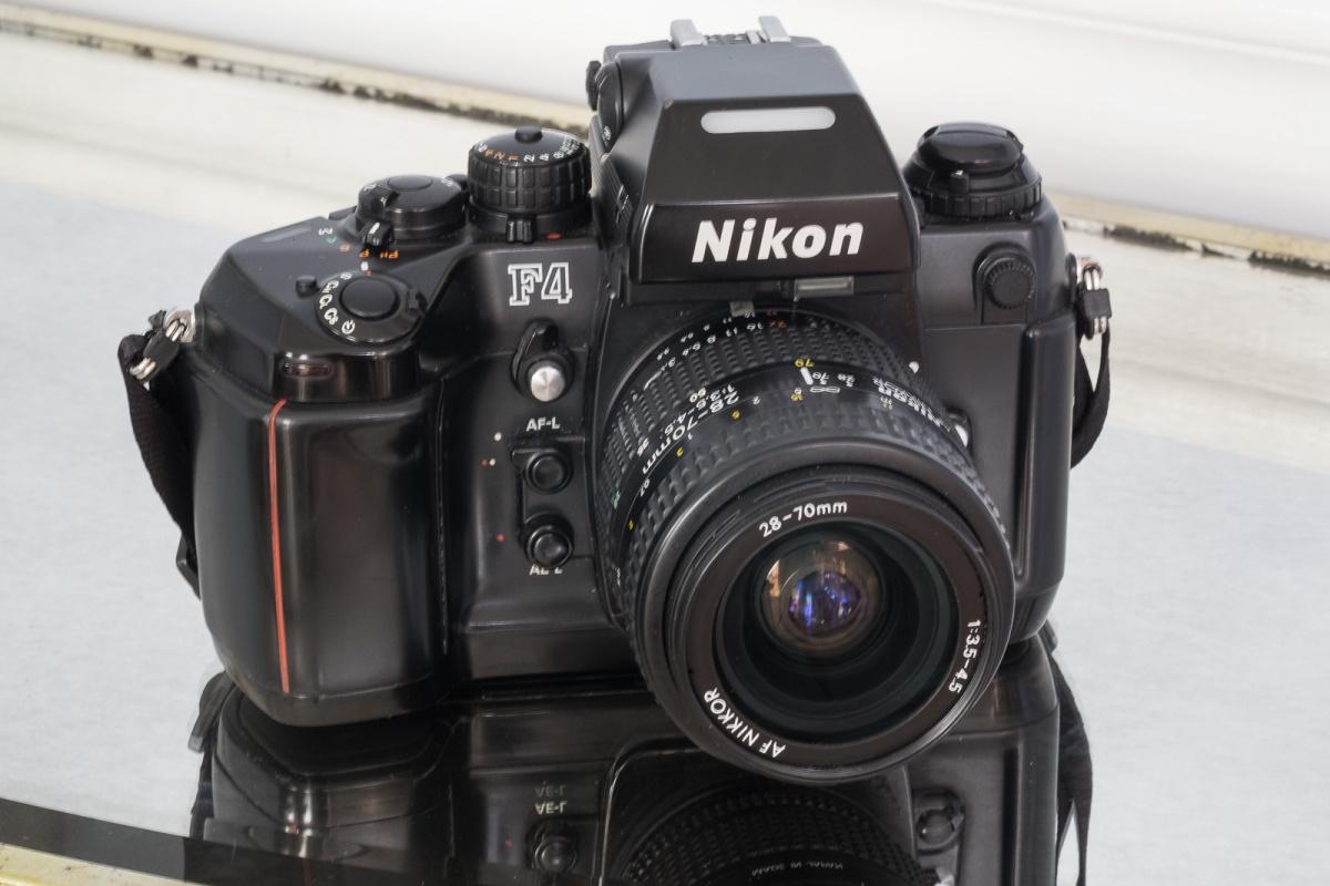 Nikon F4 - Nikon's last conventional Pro camera