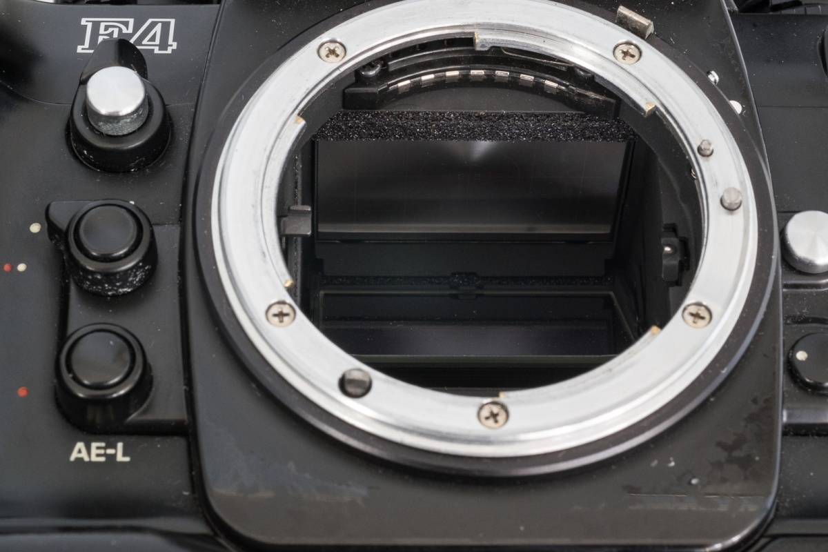 Cameragx A New Life For Old Gear Push The Meter Into Black Mounting Flange From Back Until It Nikon F Mount Clockwise Top On Mounts Coupling Lever Used Aperture Indexing Lens Type Signal Pin Release